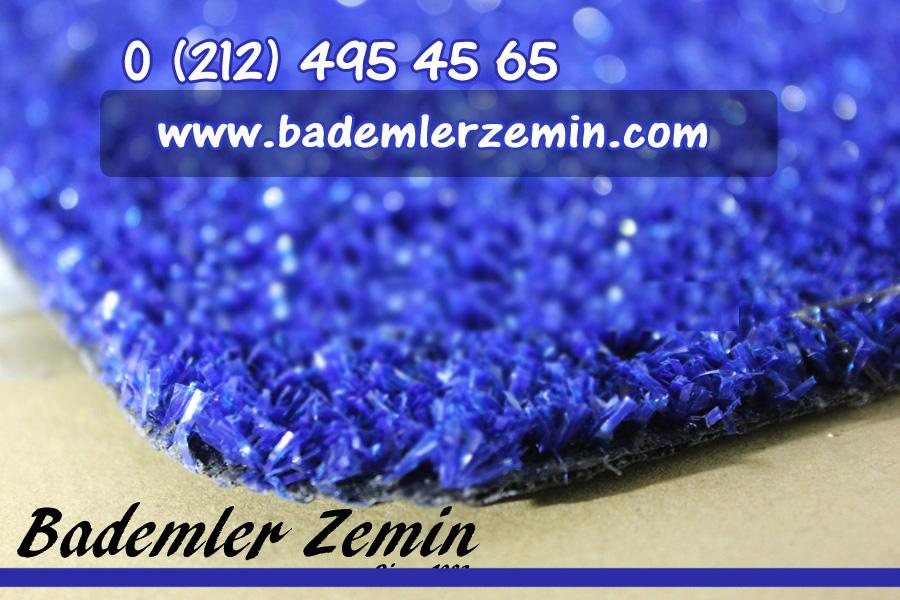 mavi yapay çim halı